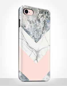 Blush Marble Tough Case