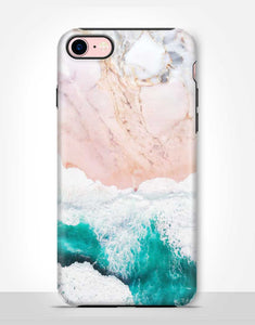 Beach Marble Tough Case