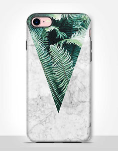 Marble Leaves Tough Case