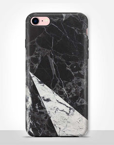 Black And White Marble Tough Case