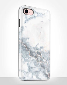 Light Grey Marble Tough Case