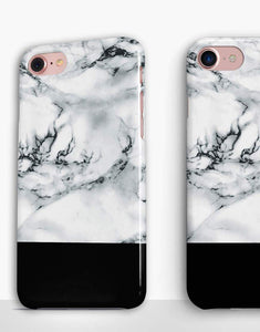 Black And White Marble Classic Case