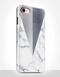 Grey Marble Tough Case