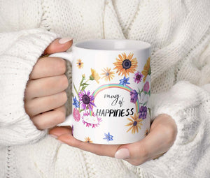 """Mug of Happiness"" feliratú bögre"