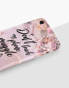 Don't Touch My Phone Muggle Classic Case