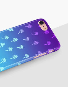 Neon Palm Trees Classic Case