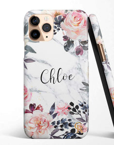 Custom Name Lilac Floral Classic Case