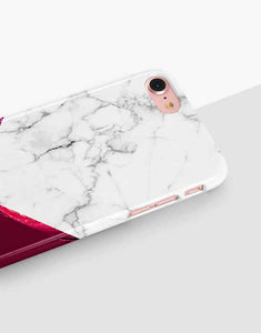 Custom Name Burgundy Classic Case
