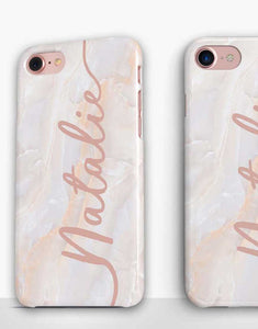 Custom Name Blush Classic Case