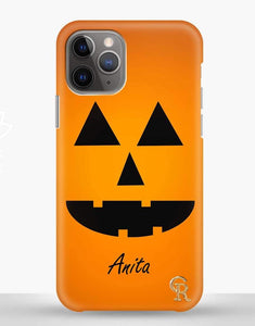 Custom Name Pumpkin Classic Case