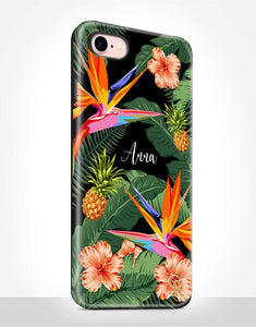 Custom Name Tropical Tough Case