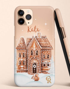 Custom Name Gingerbread House Classic Case