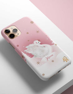 Custom Name Swan Lake Classic Case