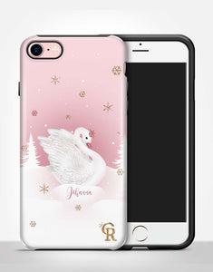 Custom Name Swan Lake Tough Case
