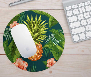 Tropical Pineapple Mouse Pad