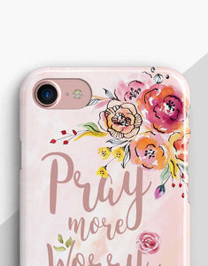 Pray More Classic Case
