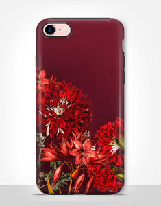 Burning Red Flowers Tough Case