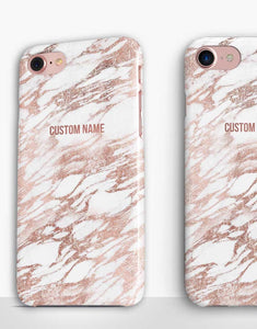 Custom Name Rose Gold Classic Case