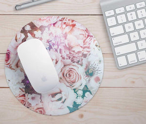 Floral Mouse Pad