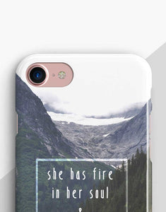 She Has Fire In Her Soul Classic Case