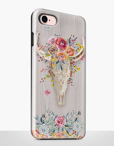 Boho Skull Tough Case