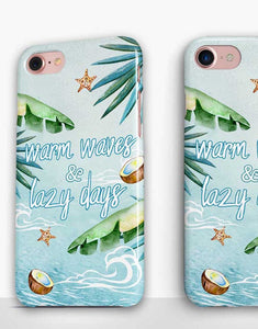 Warm Waves & Lazy Days Beach Classic Case