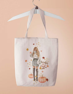 Sweeter Than Pumpkin Pie Tote Bag