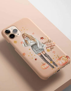 Sweeter Than Pumpkin Pie Classic Phone Case