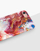 Red Abstract Paint Classic Case