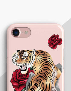 Roses And Tiger Classic Case