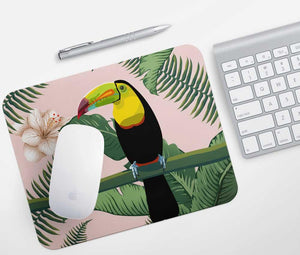 Toucan Jungle Mouse Pad