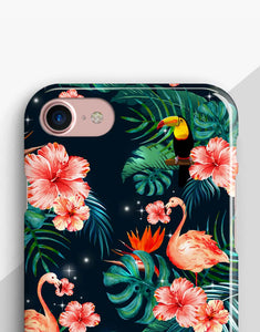 Tropical Flamingo Classic Case