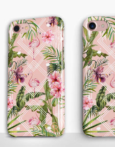 Art Deco Flamingo Classic Case