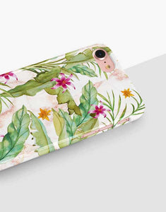 Tropical Banana Leaves Classic Case