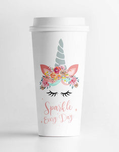 Sparkle Everyday Unicorn Tumbler