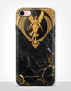Golden Black Marble Tough Case