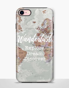 Wanderlust Tough Case