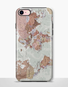 World Map Tough Case