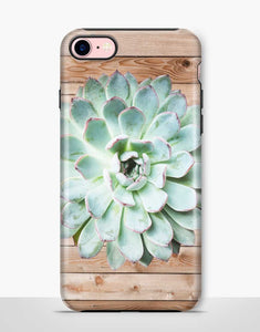 Succulent Wood Tough Case