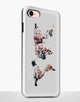Floral World Map Tough Case