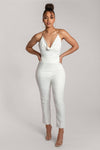 Luella Plain Cigarette Pant - White