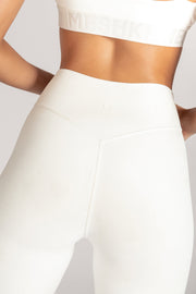 Venus V-Back Leggings - White - MESHKI