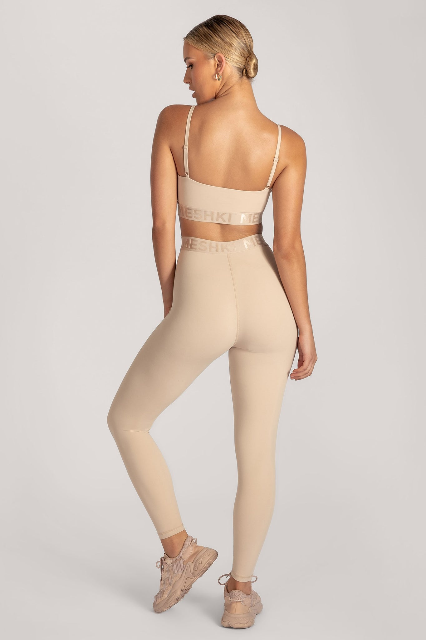 Acacia Meshki Full Length Leggings - Nude - MESHKI