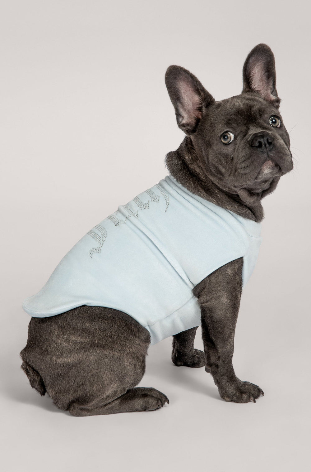 Gretchen Dog Jumper - Baby Blue - MESHKI