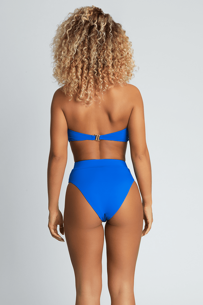 0449c69a19b Perrie High Waist Bikini Bottoms - Bright Blue