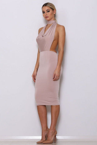 Brooke Dress - Nude