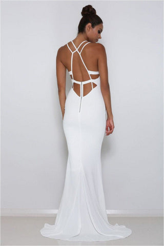 Troy Gown - White