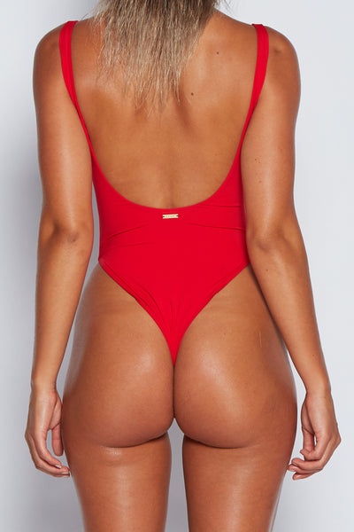 Sienna One Piece Bikini - Red - MESHKI