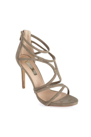 Sophia - Light Khaki Suede