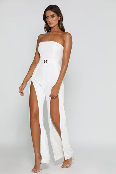White Jumpsuits